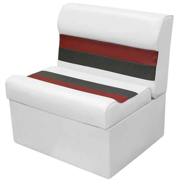 Wise Seating WD95 Loung Seat - White/Red/Charcoal