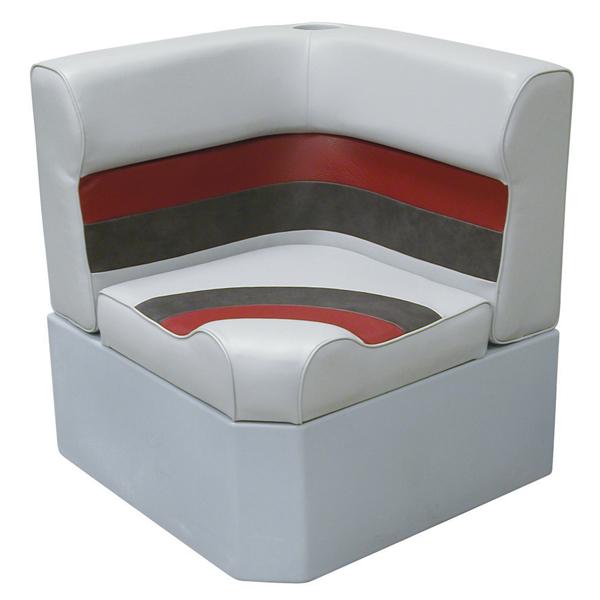 Wise Seating Corner Radius Seat - Gray/Red/Charcoal Sale $274.99 SKU: 12066221 ID# 8WD133-1012 UPC# 85211773400 :