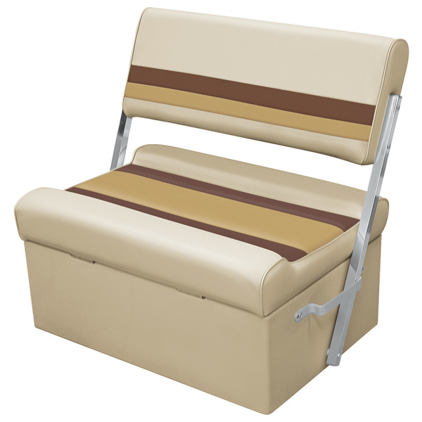 Wise Seating Flip-Flop Seat - Sand/Chestnut/Gold Sale $254.99 SKU: 12066254 ID# 8WD125FF-1010 UPC# 85211768215 :