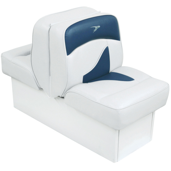 Wise Seating Deluxe Lounge Seat - White/Navy Sale $259.99 SKU: 12066304 ID# 8WD1033-0031 UPC# 85211751194 :