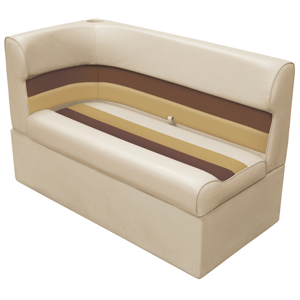 Wise Seating Corner Lounge Seat - Sand/Chestnut/Gold, Right Sale $359.99 SKU: 12066411 ID# 8WD132-1010 UPC# 85211769090 :