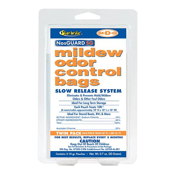 Star Brite NosGUARD SG Mold/Mildew Odor Control Slow Release System Twin-Pack Sale $18.99 SKU: 12090288 ID# 89950 UPC# 71247899504 :