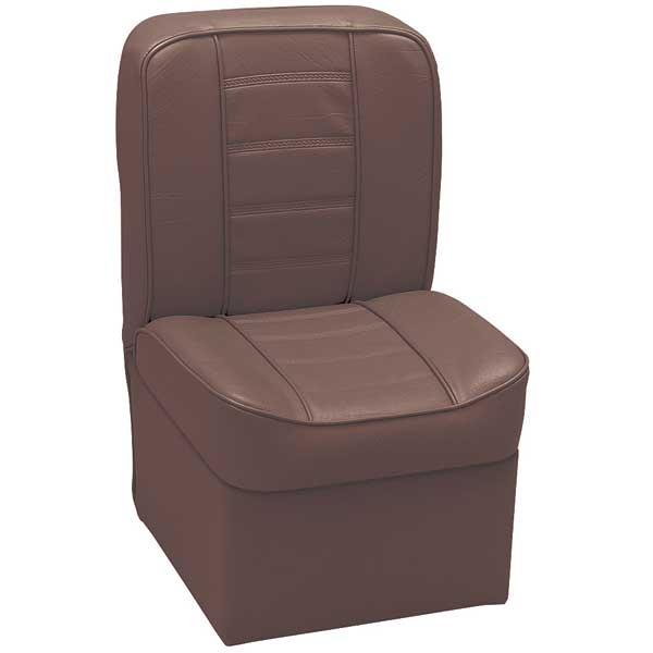 Wise Seating Deluxe Jump Seat, 27H, 15-1/2W, 15-3/4D, Brown