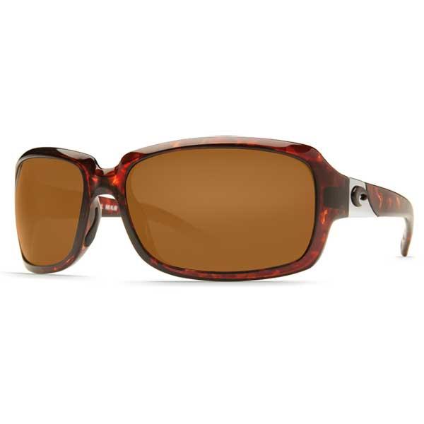 Women's Isabela Sunglasses, Tortoise Frames with Costa 580 Amber Plastic Lenses Tortoise/amber