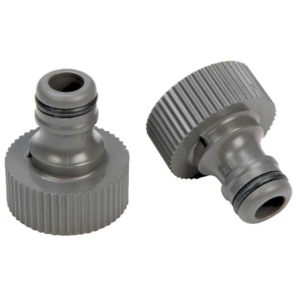 Gardena Garden Hose Connector, Two-Pack