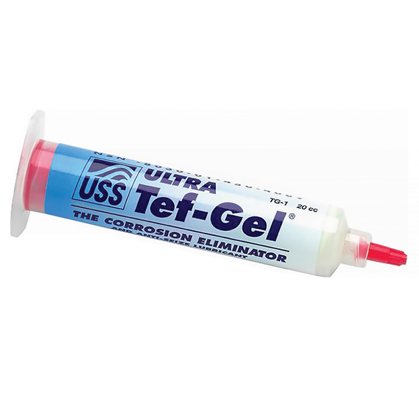 Tef-gel Corrosion Eliminator and Anti-Sieze Lubricant, 20cc Tube with Applicator