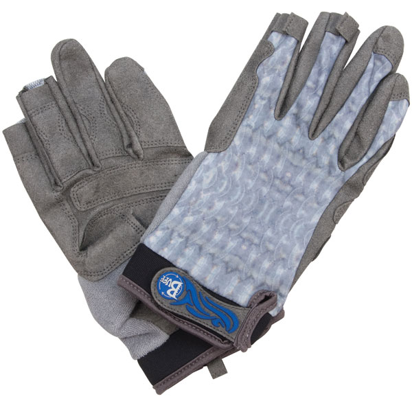 Fighting Work Gloves, Gray Scale, L/XL