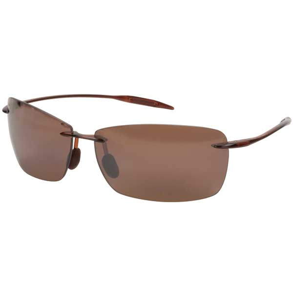 Maui Jim Lighthouse Sunglasses, Rootbeer Frames with Bronze HCL Lenses Brown