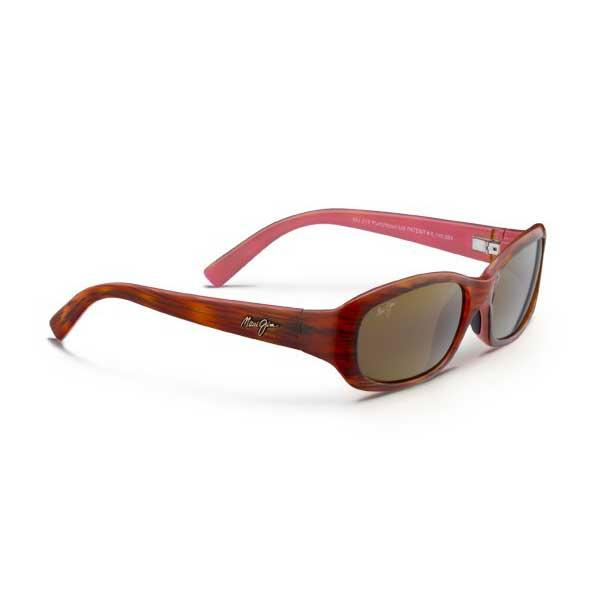 Maui Jim Women's Punchbowl Sunglasses, Tortoise & Pink Frames with HCL Bronze Lenses Tortoise/pink/brown