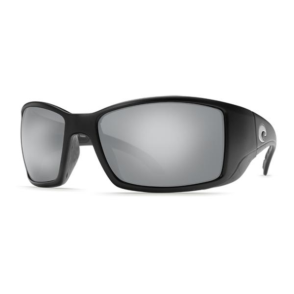 Black/grayfin Sunglasses, Matte Black/gray Frames with Costa 580 Gray Plastic Lenses