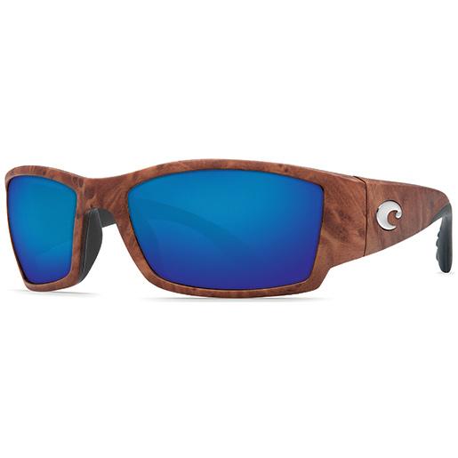 Corbina Sunglasses, Gunstock Frames with Costa 580 Blue Mirror Glass Lenses
