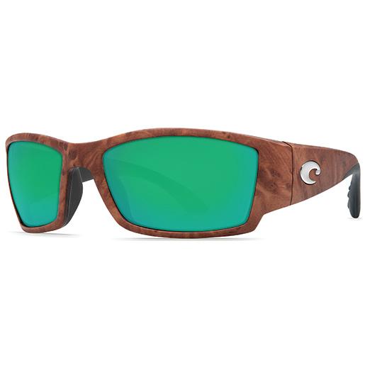 Corbina Sunglasses, Gunstock Frames with Costa 580 Green Mirror Glass Lenses Sale $249.00 SKU: 15233331 ID# CB 70 OGMGLP :