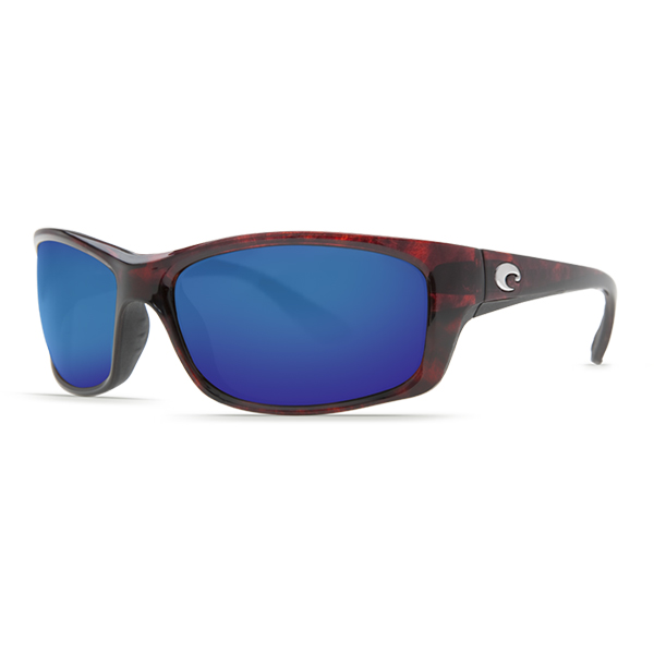 Jose Sunglasses, Tortoise Frames with Costa 580 Tortoise/blue Mirror Glass Lenses