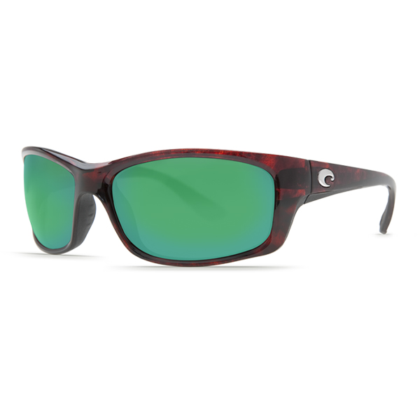 Jose Sunglasses, Tortoise Frames with Costa 580 Tortoise/green Mirror Glass Lenses