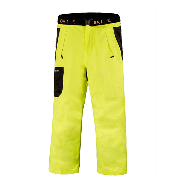Men's Weather Watch Pants, Yellow, M