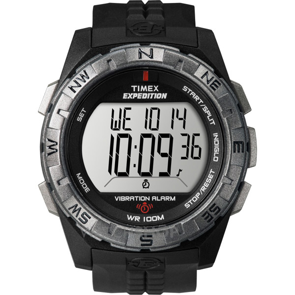 Timex Expedition Vibration Alarm Watch Black