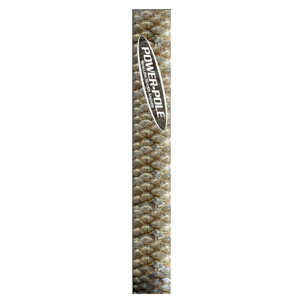 Power-pole Graphic Wrap - Redfish Scales