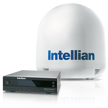 Intellian i4 Marine Satellite TV Antenna System—North America LNB