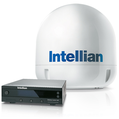 Intellian i6 Marine Satellite TV Antenna System—North America LNB