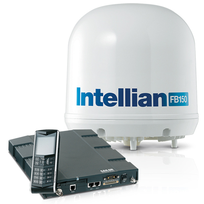 Intellian FB150 Fleet Broadband Antenna System