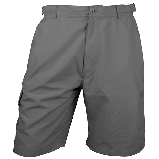 Bluefin Men's Tournament Fishing Shorts Gray