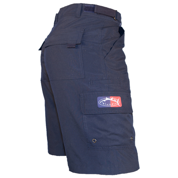 Bluefin Men's Tournament Fishing Shorts, Navy, 34