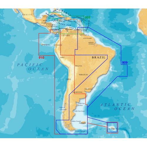 Navionics South America West, MSD/910P Sale $299.99 SKU: 12315115 ID# MSD/910P UPC# 821245910592 :