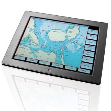 Simrad DI15 Display for NSO System, Dimensions: 15W x 11 5/8H, Screen Size: 15 diagonal, Screen Resolution: 1024 x 768, Voltage: 10-32V DC