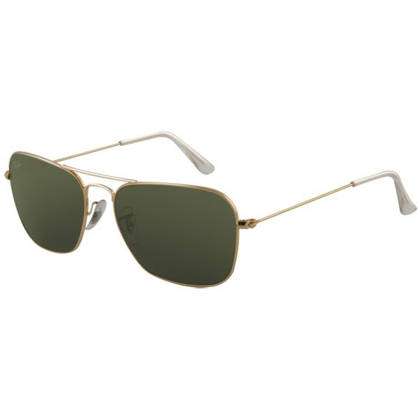Ray Ban Caravan Sunglasses, Arista Frames with Gray G-15 XLT Lenses Arista/gray