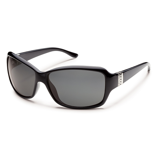 Suncloud Daybreak Polarized Sunglasses, Black/gray Frames with Gray Lenses Sale $49.99 SKU: 12469003 ID# S-DBPPGYBK UPC# 715757338282 :