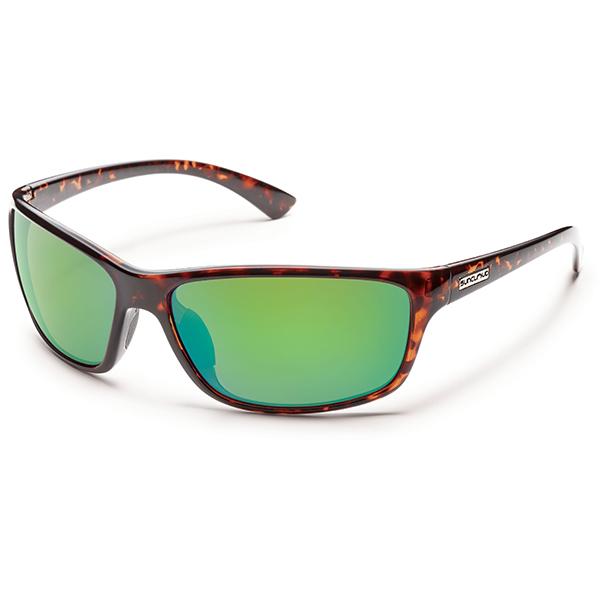 Suncloud Sentry Polarized Sunglasses, Tortoise Frames with Green Mirrored Lenses Sale $49.99 SKU: 15208960 ID# S-SEPPGMTT UPC# 715757452780 :
