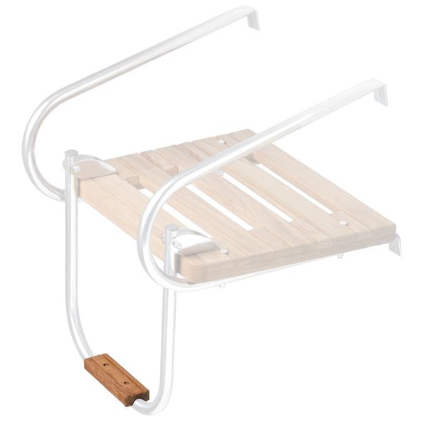 Whitecap Teak Boarding Ladder Step, X-Small
