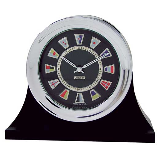Chelsea Clock Nautical Flag Clock