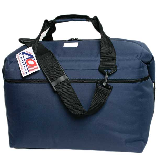 Ao Coolers 48 Pack Soft Sided Boat Cooler, Navy Blue