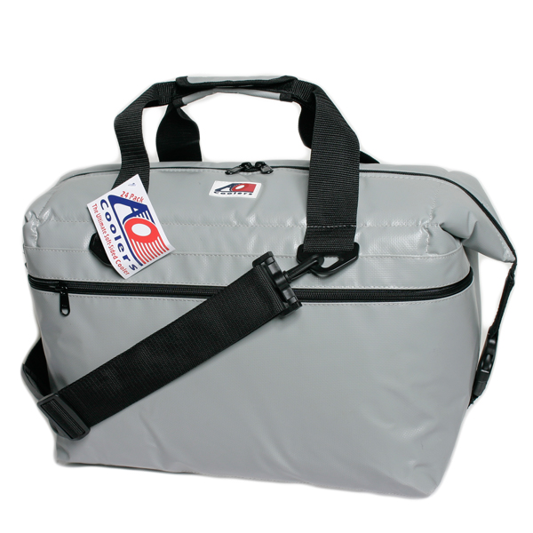 Ao Coolers 24 Pack Fishing Cooler, Silver