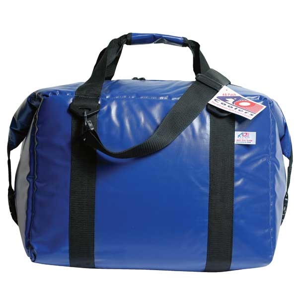 Ao Coolers 48 Can Soft-Sided Fishing Cooler, Royal Blue