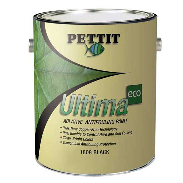 Pettit Paints Ultima ECO Antifouling Paint, Black, Gallon Sale $259.99 SKU: 12609400 ID# 1180806 UPC# 725469025547 :