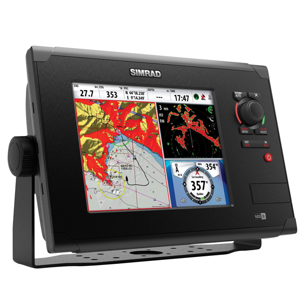 Simrad nss8 chartplotter fishfinder combo west marine for West marine fish finders