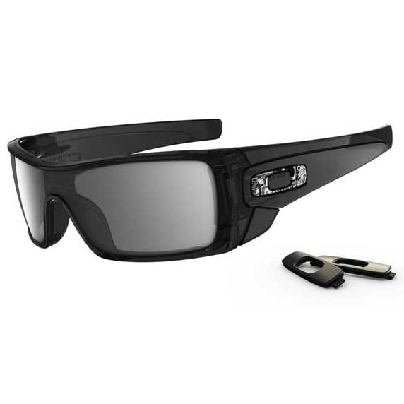 Oakley Batwolf Sunglasses, Black Ink Frames with Black Iridium Lenses