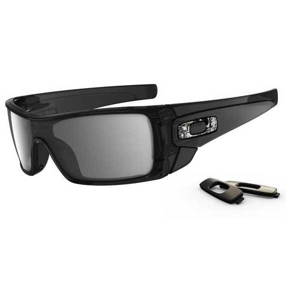 Oakley Batwolf Sunglasses, Black Ink Frames with Black Iridium Lenses