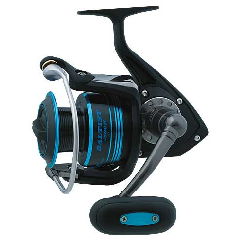 Daiwa Saltist Heavy Action Spinning, 5CRBB, 1 RB, GR 6.2 : 1, 20.10 oz., 14/300, 17/220 lb Test/SAMURAI BRAID:40/440,55/330 Yds, 22.0 Max Drag Sale $219.99 SKU: 12629762 ID# STT4500H UPC# 43178937501 :