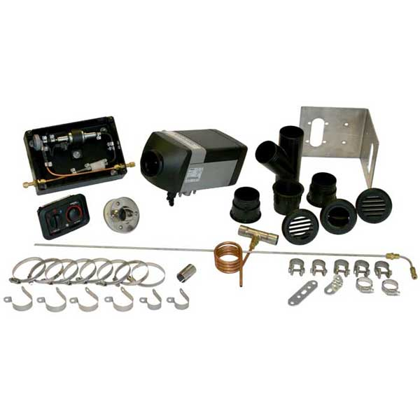 Webasto Air Top Evo 5500 Diesel Cabin Heater Kit (12V)
