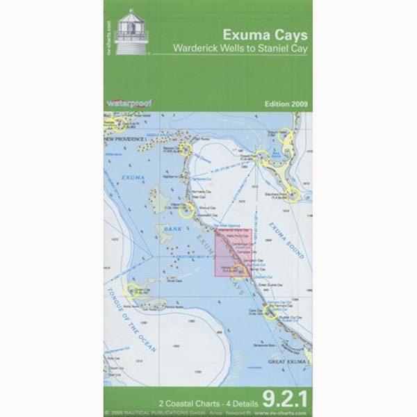 Nvcharts Exuma Cays Chart