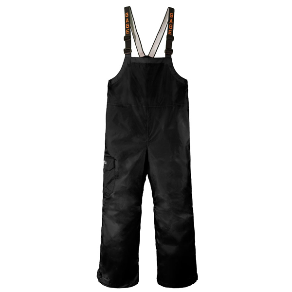 Grundens men 39 s gage weather watch bibs west marine for Waterproof fishing bibs
