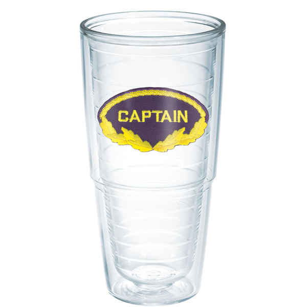 Tervis Captain Big-T Tumbler, 24oz. Sale $19.99 SKU: 12766630 ID# ADCR-I-24-CAPT UPC# 93597039010 :