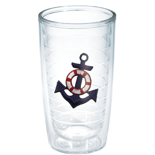 Tervis Blue Anchor 16 oz. Tumbler