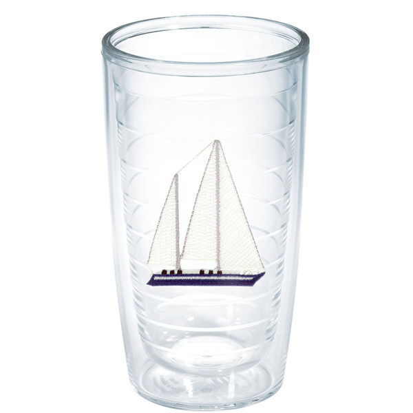 Blue Sailboat 16 oz. Tumbler