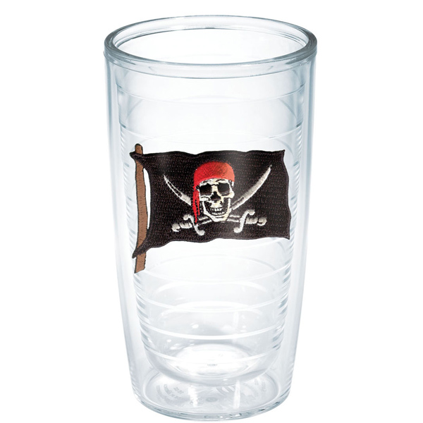 Tervis Pirate Flag 16 oz. Tumbler