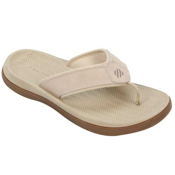 Women's Performance Flip-Flop, Stone, 6