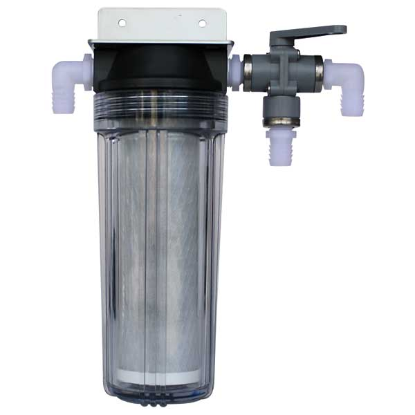 Fresh Water Flush Kit, Manual, AC Models with 2.5